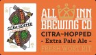 All Inn Brewing Citra Hopped Extra Pale