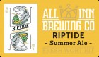 All Inn Brewing Riptide Summer Ale