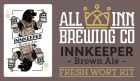 All Inn Brewing Innkeeper Brown Ale